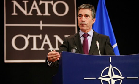 NATO leader praises German role in Libya