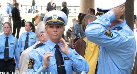Men sue Swedish police for sexual discrimination