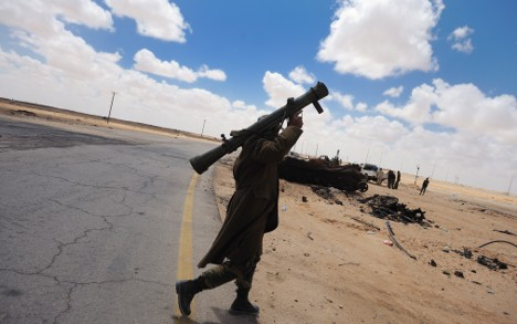 Germany offers help finding Libyan weapons