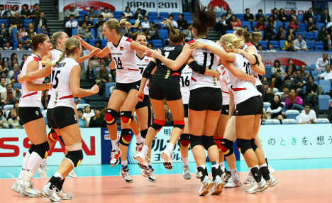 German women's volleyball team eye Olympics after beating USA