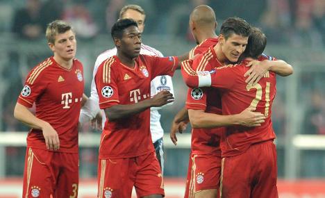 Schweinsteiger hurt in Bayern win over Napoli