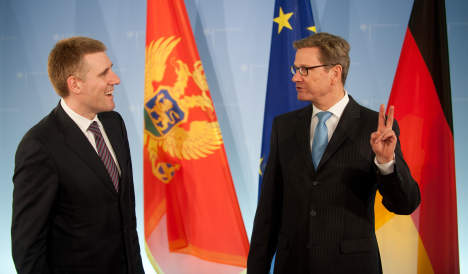 Berlin looks to defer EU talks with Montenegro