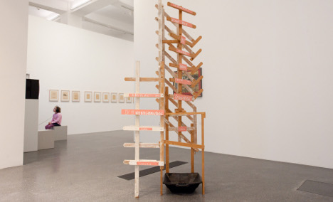 Kippenberger artwork worth €800,000 'cleaned' away