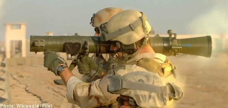Grenade launcher fired inside soldiers' barracks