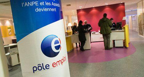 French job centre staff go on strike
