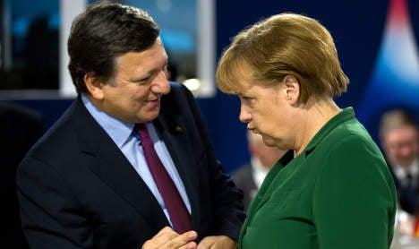 Euro recovery will take a decade, says Merkel