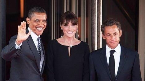 Obama congratulates Sarkozy on birth of daughter