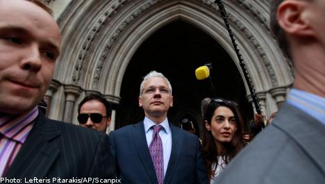Assange hires Swedish PR company