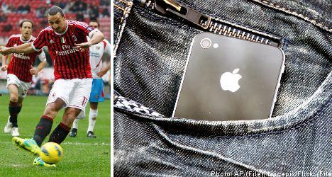 Teen uses 'Zlatan' move to swipe cop's iPhone