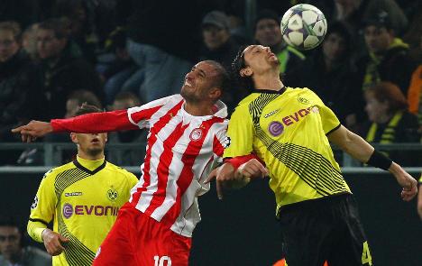 Dortmund edge nervy Olympiakos match