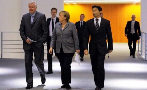 Merkel's coalition agrees tax break plan