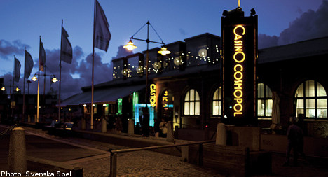 Eight arrested in Gothenburg casino raid