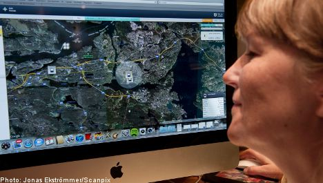 More Swedish parents track kids with GPS