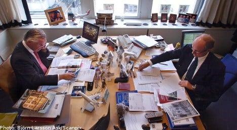 HQ scandal splits Swedish business duo