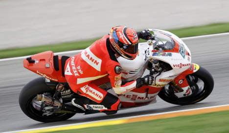 German rider clinches Moto2 championship