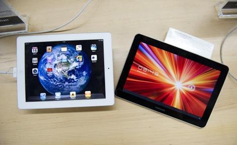 Samsung alters tablet design for Germany