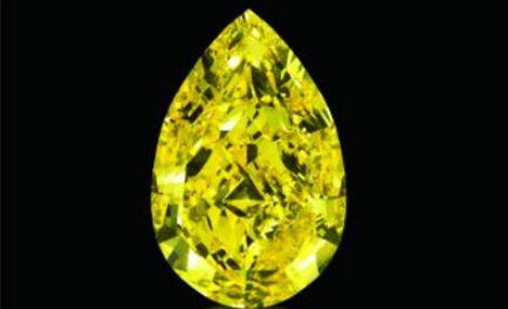 'Sun Drop' diamond fetches record $10.9m
