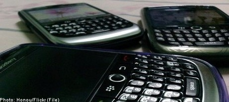 Blackberry looks to crack Swedish smartphone market