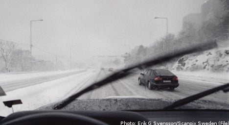 Slick roads disrupt Swedes' Christmas travel