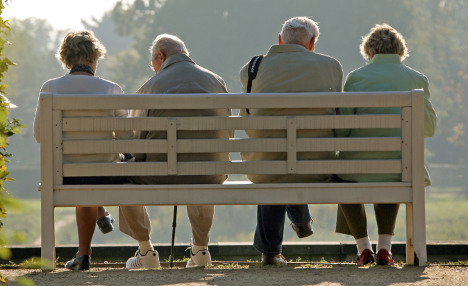 Struggling pensioners forced back to work