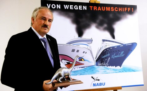 Cruise ships pollute like millions of cars
