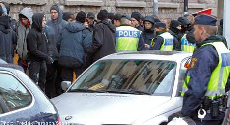 Far-right demo creates chaos in Stockholm