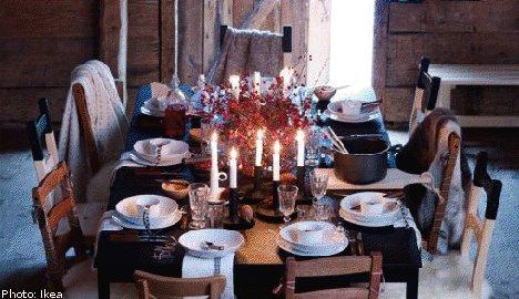 Creating a Christmas home, Swedish style