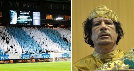 Qaddafi wanted to buy Malmö FF: report