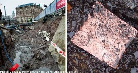 Five shipwrecks found in central Stockholm