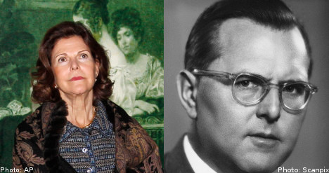 'Queen Silvia shouldn't be blamed for her father's Nazi past'