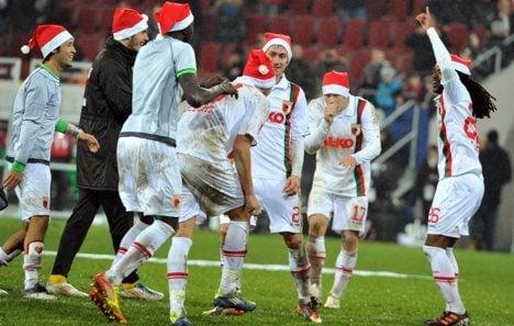 Augsburg triumph as Gladbach blow chance