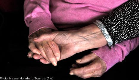 Sweden earmarks billions for elderly care boost