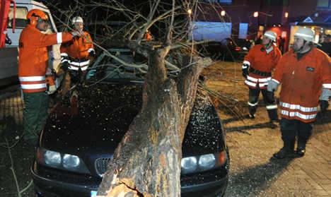 Winter storm 'Joachim' blows over