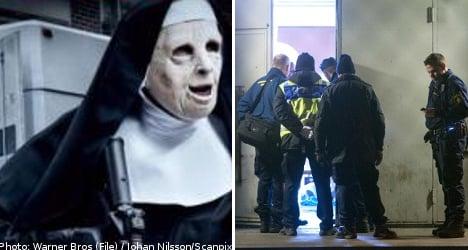 Swedish police hunt 'Halloween mask' killer