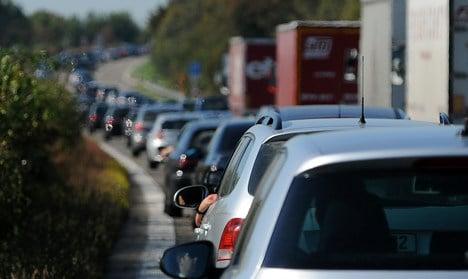 Half a million kilometres of traffic jams this year