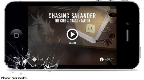 'Millennium' publisher launches Salander app