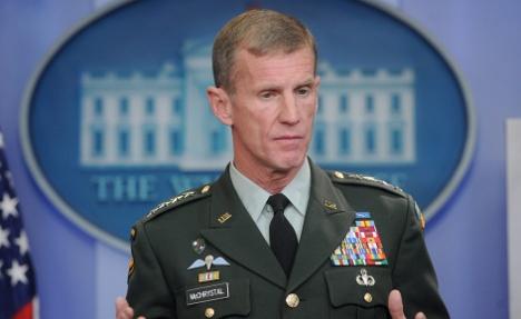 Siemens hires sacked US general McChrystal