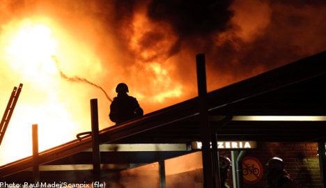 Shopping centre blaze was 'gang initiation'