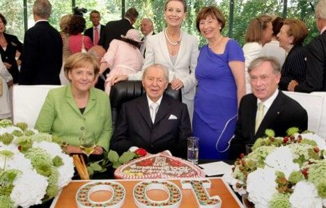 Mail order mogul Werner Otto dies at 102