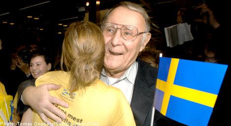 Ikea founder donates millions to 'hometown' Swedish university