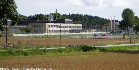 Escaped prisoner on the loose in Stockholm