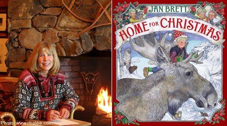 Sweden's elk trump reindeer in new Christmas book