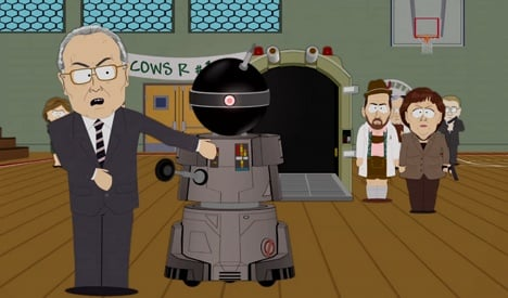 South Park takes aim at 'humourless' Germans