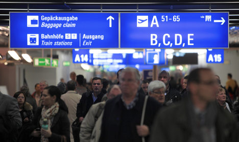 Europeans flee crisis by heading to Germany