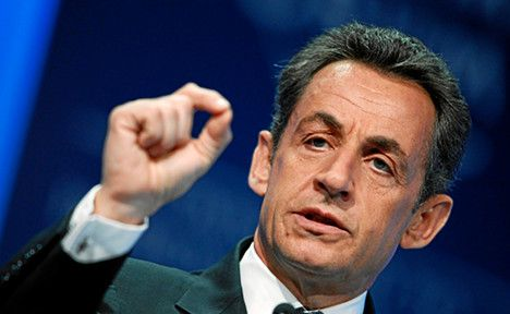 Sarkozy seeks support for euro plan