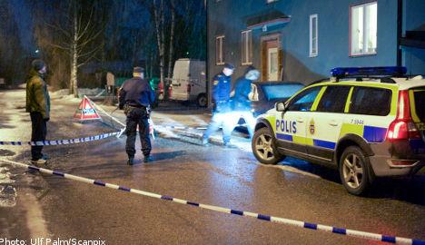 Man found shot on Ludvika street