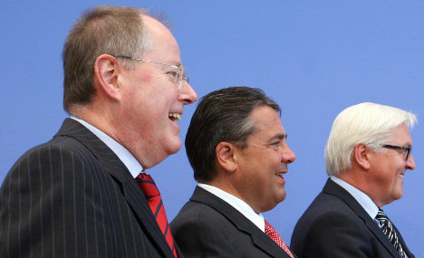 Steinbrück rules out new grand coalition