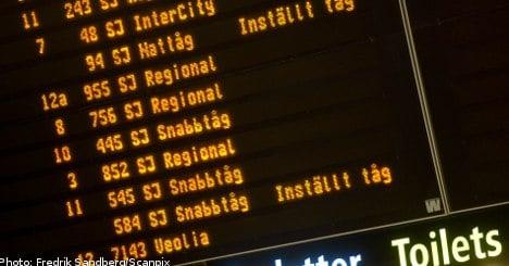 Sweden struggles with wrath of storm Dagmar