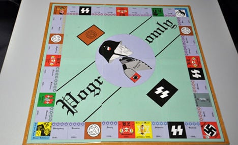 Neo-Nazi killers sold fascist 'Monopoly'