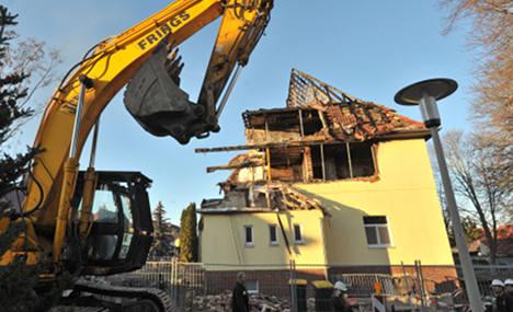 Neo-Nazi terror house 'will be demolished'